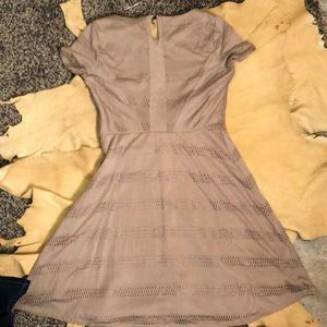 LC Lauren Conrad Dresses - Beige Lauren Conrad Crochet Dress